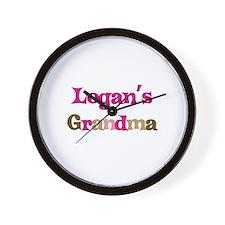 Logan's Grandma  Wall Clock