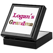 Logan's Grandma  Keepsake Box