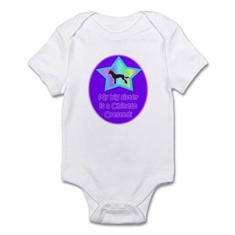 Chinese Crested Infant Body Suit