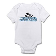 12 Racing Mommy Infant Bodysuit