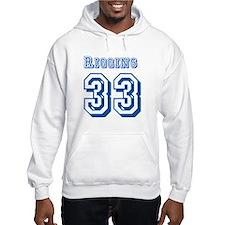 Riggins 33 Jersey Hoodie