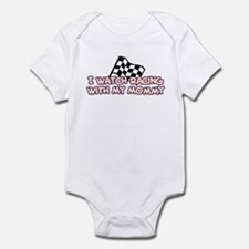 11 Racing Mommy Infant Bodysuit