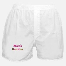 Max's Grandma  Boxer Shorts