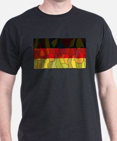 German Stained Glass Window T-Shirt