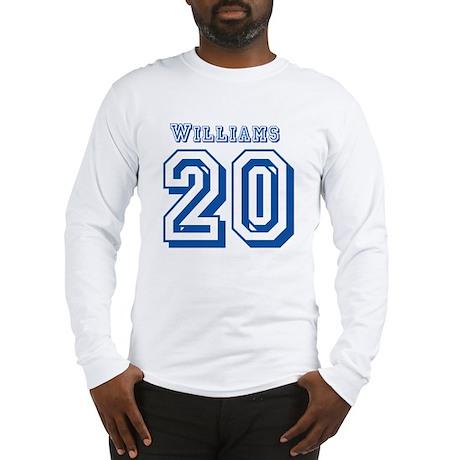 # 20 Smash Williams Jersey Long Sleeve T-Shirt