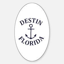 Cute Destin Sticker (Oval)