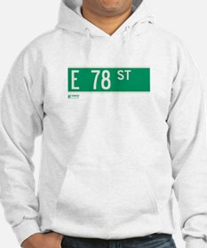 78th Street in NY Hoodie