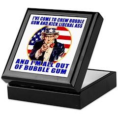 Anti Liberal Uncle Sam Keepsake Box