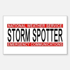 "NWS ""STORM SPOTTER"" Bumber/Windo Decal"