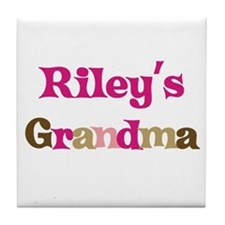 Riley's Grandma  Tile Coaster