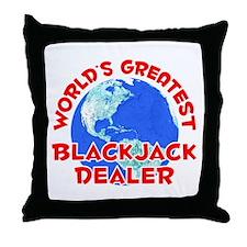 World's Greatest Black.. (F) Throw Pillow