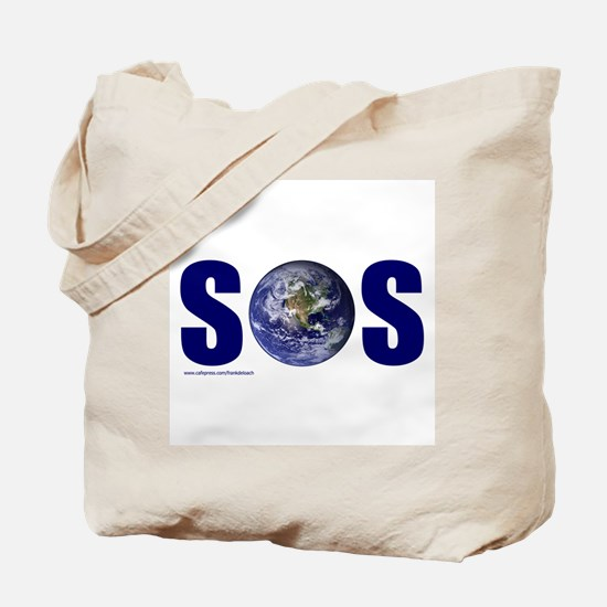 SOS EARTH Tote Bag