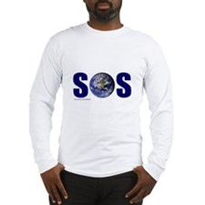 SOS EARTH Long Sleeve T-Shirt