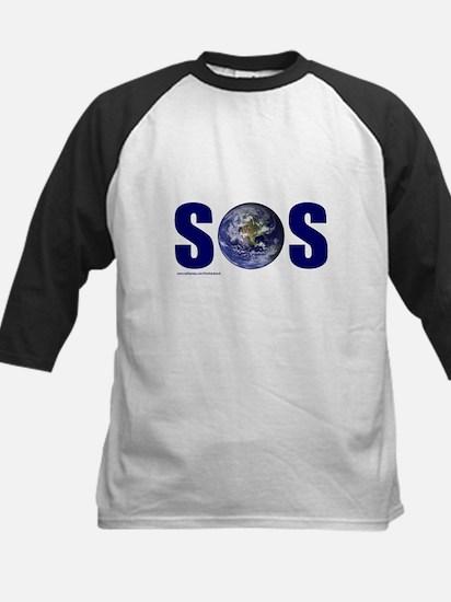 SOS EARTH Kids Baseball Jersey