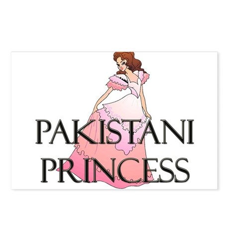 Pakistani Princess Postcards (Package of 8)