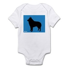 Schipperke iPet Infant Bodysuit