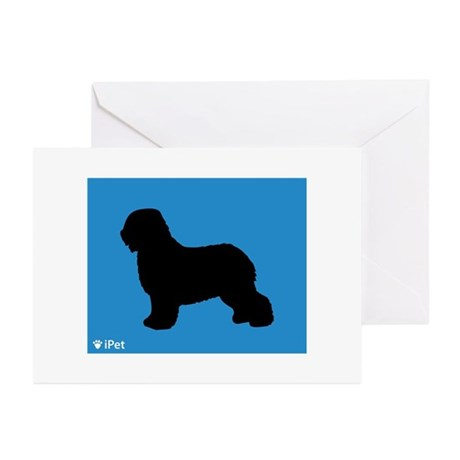 Schapendoes iPet Greeting Cards (Pk of 10)
