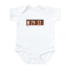 79th Street in NY Infant Bodysuit