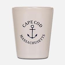 Cute Cape cod ma Shot Glass