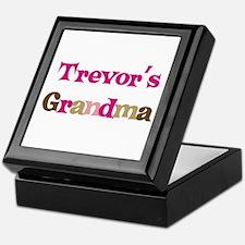 Trevor's Grandma  Keepsake Box