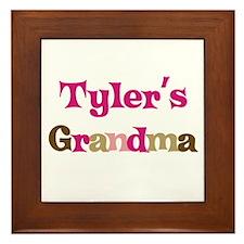 Tyler's Grandma  Framed Tile