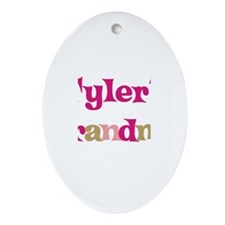 Tyler's Grandma  Oval Ornament
