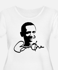 Obama Autographed Picture T-Shirt