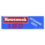Newsweek Lied Afghans Died