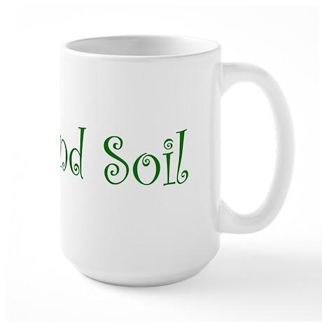 Heart and Soil Large Mug