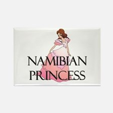 Namibian Princess Rectangle Magnet