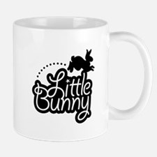 Little Bunny - Black Mug
