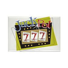 Jackpot Rectangle Magnet