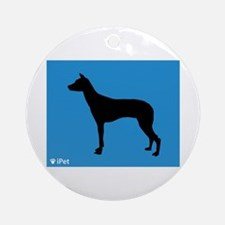 PIO iPet Ornament (Round)