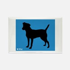 Patterdale iPet Rectangle Magnet