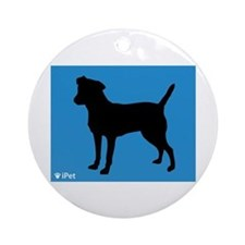 Patterdale iPet Ornament (Round)