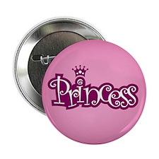 "Princess - Pink 2.25"" Button"