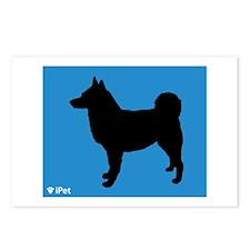 Elkhound iPet Postcards (Package of 8)