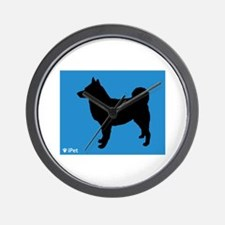 Elkhound iPet Wall Clock