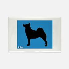 Buhund iPet Rectangle Magnet (100 pack)