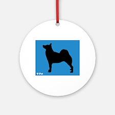 Buhund iPet Ornament (Round)
