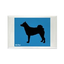 Norrbottenspets iPet Rectangle Magnet