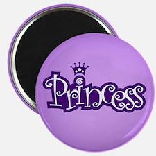 Princess - Purple Magnet