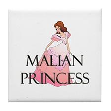Malian Princess Tile Coaster