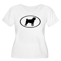 Pug Oval T-Shirt