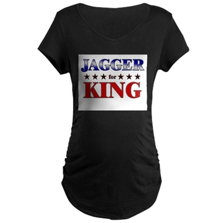 JAGGER for king Maternity Dark T-Shirt