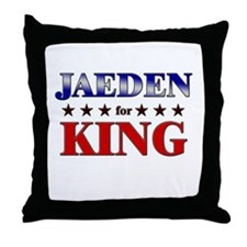 JAEDEN for king Throw Pillow