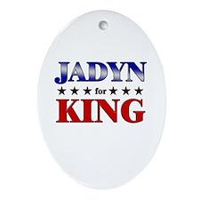 JADYN for king Oval Ornament