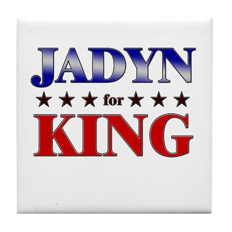 JADYN for king Tile Coaster