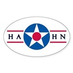 Hahn Air Base Oval Sticker