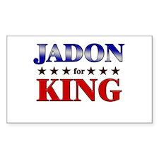 JADON for king Rectangle Decal